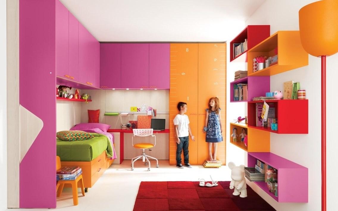 Desain Interior Cat Dinding Kamar Tidur Anak Laki 1