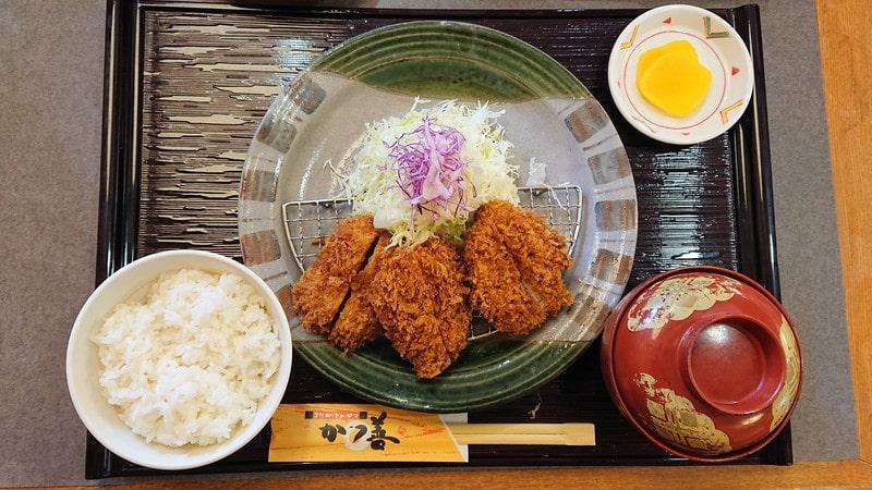 かつ善 新川店 ヒレカツ定食(小)