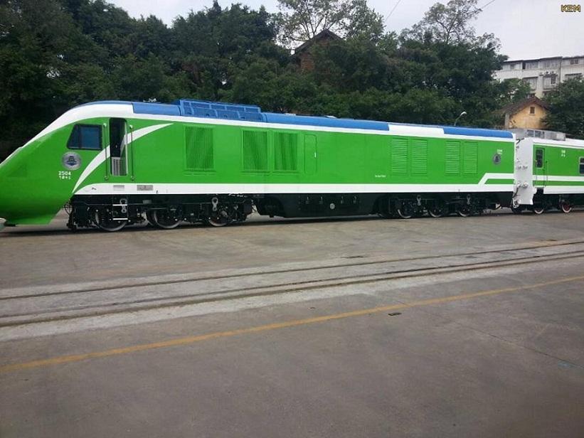 وصول الدفعة الأولى من قطار مواصلات ولاية الخرطوم