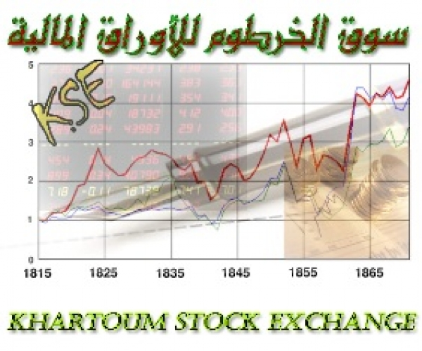 مؤشر سوق الخرطوم للأوراق المالية يغلق منخفضاً