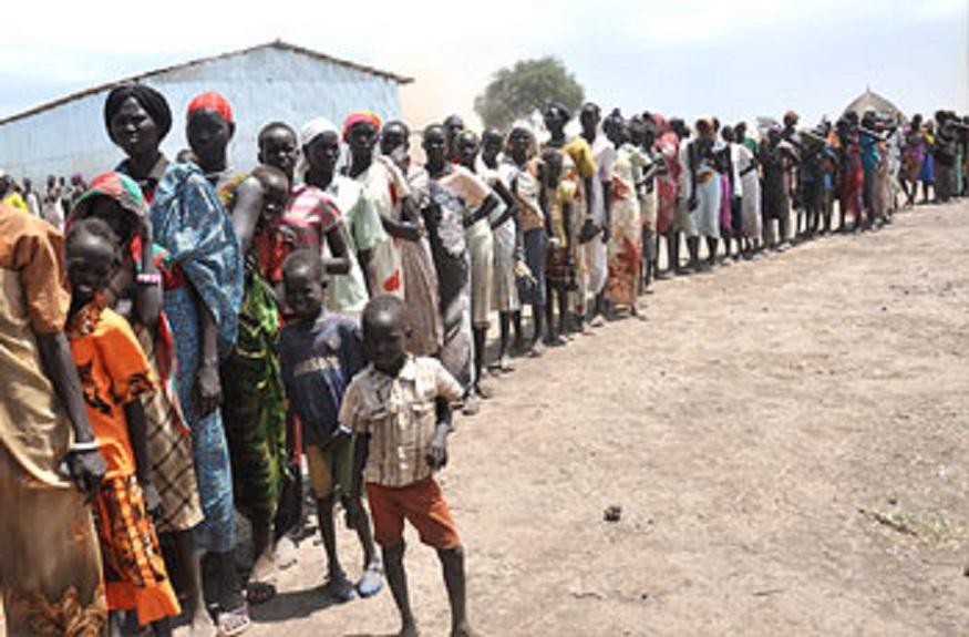 النيل الأبيض: أعداد اللاجئين الجنوبيين بمحلية السلام يساوي عدد سكانها