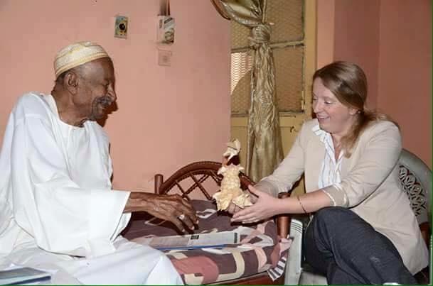 أصدقاء (كشان) يزورون حمدي بدرالدين
