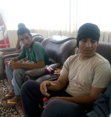 %name بالصور أفراد القوة العسكرية المصرية التي اختطفت جنوب ليبيا وقام جهاز المخابرات السوداني بتحريرهم