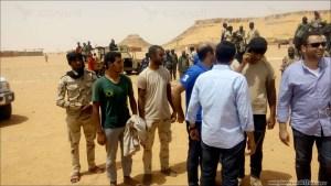 """%name """"عِبَارة"""" بتصريح المتحدث بإسم الجيش المصري تثير حفيظة السودانيين حول تحرير الأمن السوداني لجنود مصريين"""