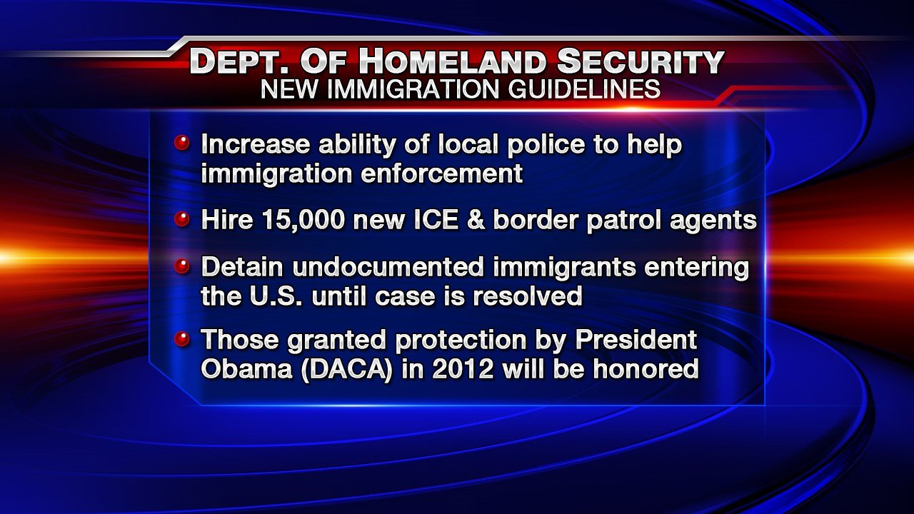 Image result for New DHS Immigration guidelines