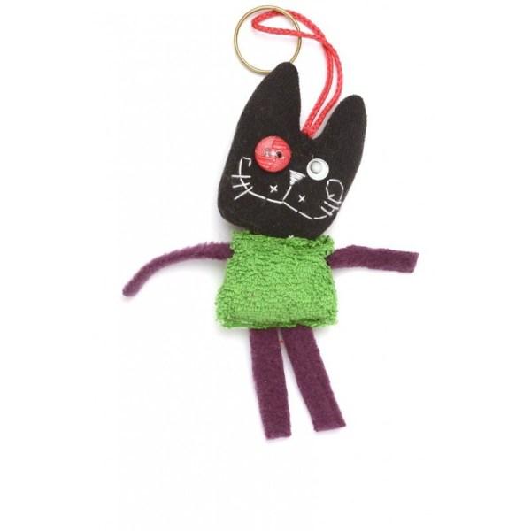 Muñeco gato negro