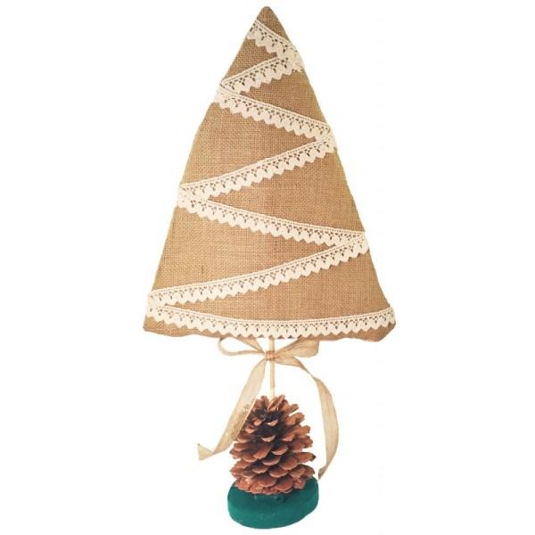 KIt árbol navidad arpillera