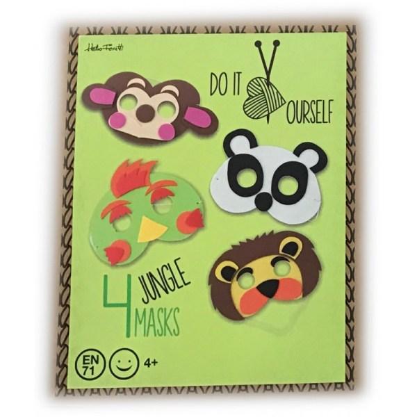 KIT Infantil Máscaras Goma Eva