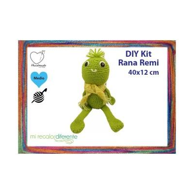 Kit Amigurumi Rana Remi
