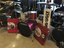 Yamaha 4 pcs Drum Set, AAX Cymbals Pack at GA Yupangco Co., & Inc. Showroom, Yupangco Building, Poblacion, Makati 1200 Metro Manila (Photo taken with permission from staff/Courtesy Mitochondria Iligan)