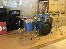 Yamaha 5 pcs Drum Set at GA Yupangco Co., & Inc. Showroom, Yupangco Building, Poblacion, Makati 1200 Metro Manila (Photo taken with permission from staff/Courtesy Mitochondria Iligan)
