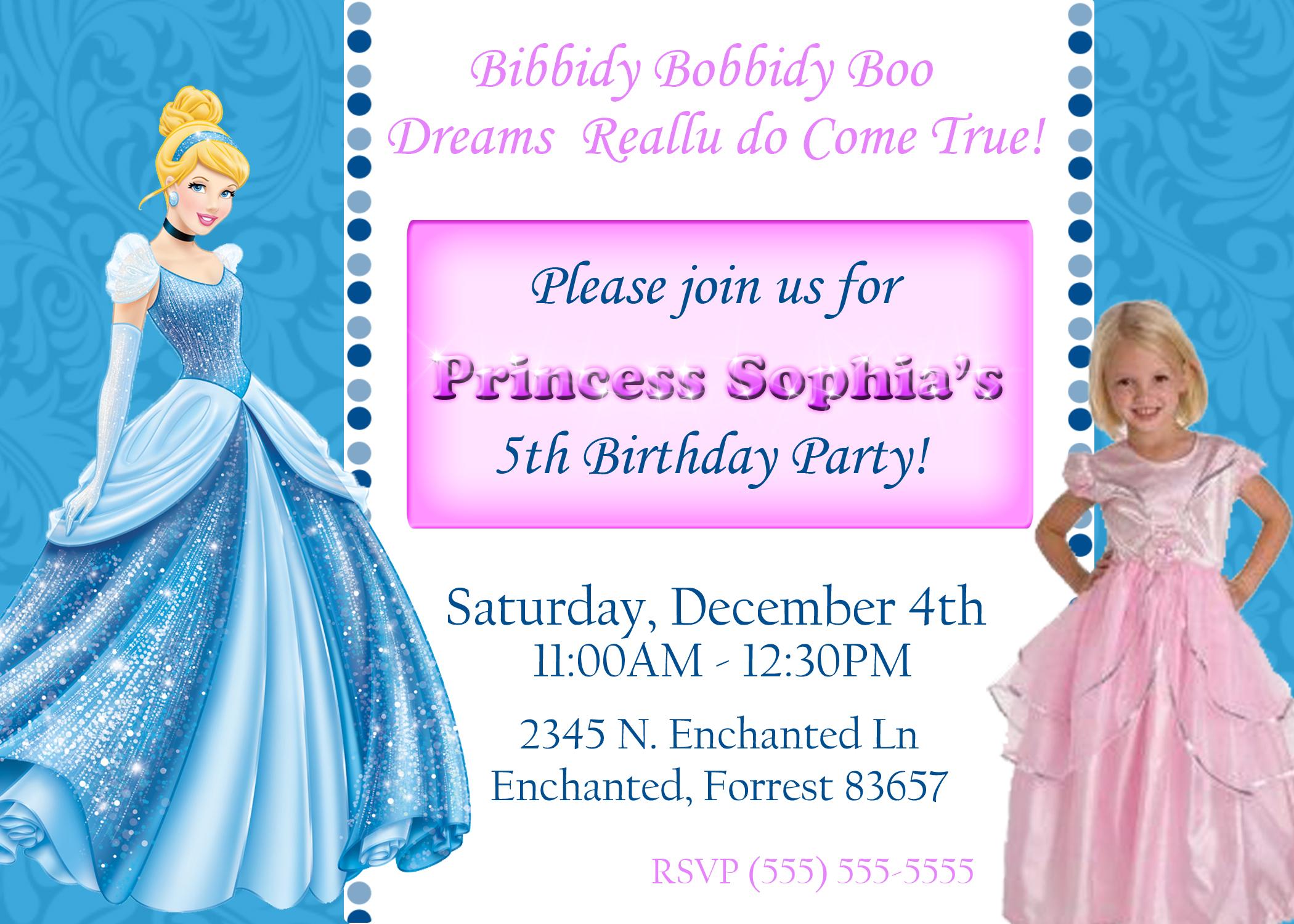 disney princess cinderella birthday