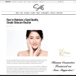 Simple Skincare Routine- Featured in Sass Magazine