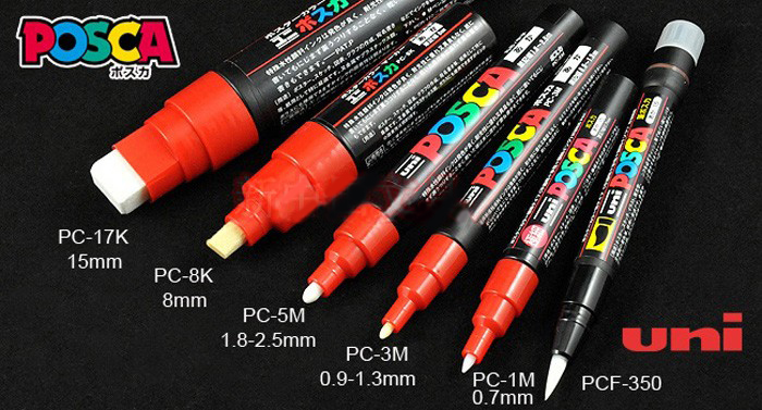 The Ultimate Guide to Posca Paint Markers | Kusuyama