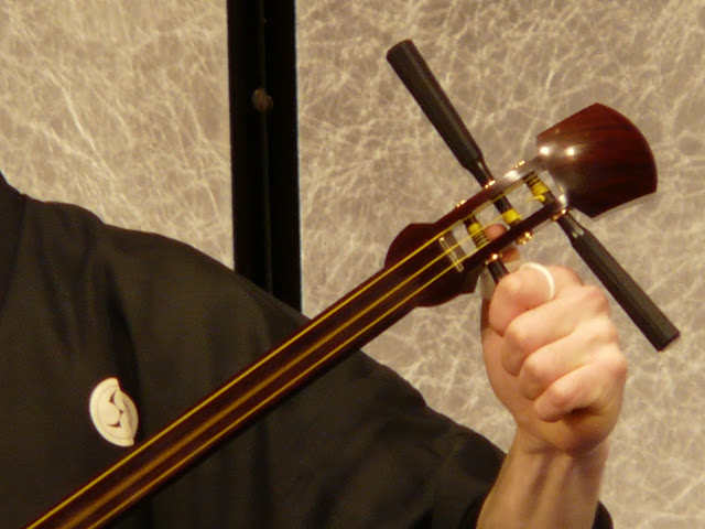 The Percussive Shamisen - Japanese Musical Instruments
