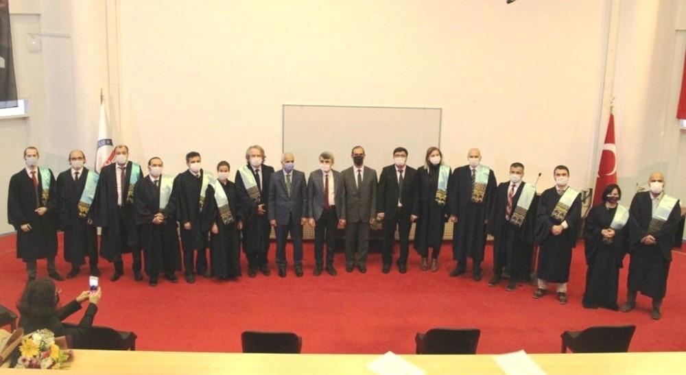 DPÜ'de İİBF'de Akademik Yükseltme Töreni