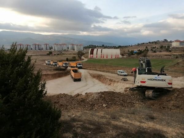Emet'te Huzurevi inşaatı başladı