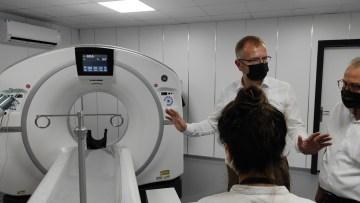 Evliya Çelebi Eğitim ve Araştırma Hastanesi'ne 'Yeni nesil tomografi' cihazı
