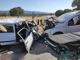 Gediz'deki trafik kazasında ölü sayısı 2'ye yükseldi