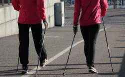 Nordic walking jest coraz popularniejszy