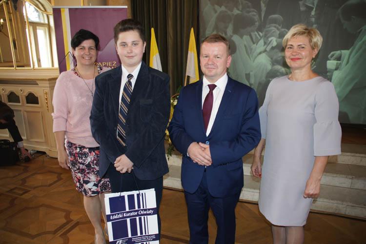Michał Olesiński laureatem ogólnopolskiego konkursu