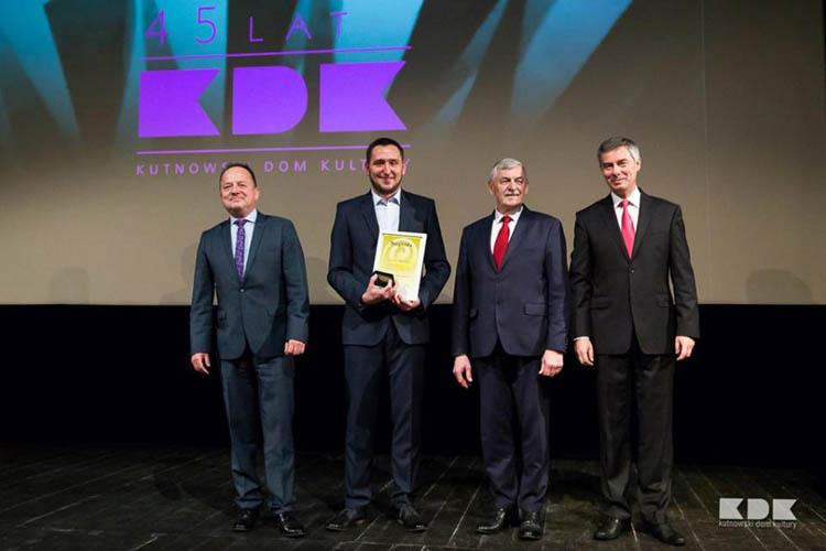 Jarosław Makowski z nagrodą w dziedzinie kultury