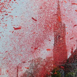 Biało-czerwone konfetti