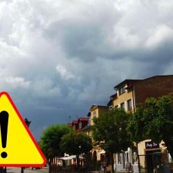 Ostrzeżenie drugiego stopnia przed burzami z gradem