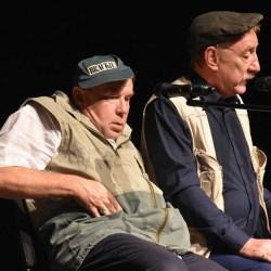 Aktorzy z ,,Rancza'' wystąpili dla kutnowskich seniorów