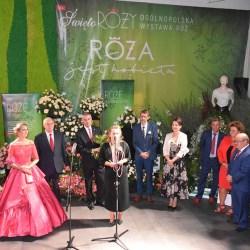 Otwarcie wystawy róż ,,Róża jest kobietą''