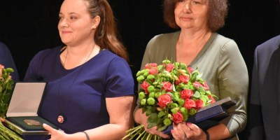 Nagrody w dziedzinie kultury dla pań: Rzetelskiej i Staniszewskiej