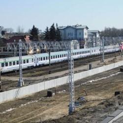 Pociąg potrącił 40-latka na wiadukcie przy ul. Troczewskiego