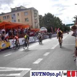 Święto kolarstwa w Kutnie. Wygrał Norman Vahtra