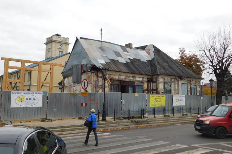 Remont Pałacu Saskiego bez dofinansowania z UE