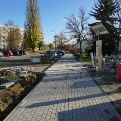 Trwa przebudowa ul. Jagiełły, Batorego i Chrobrego