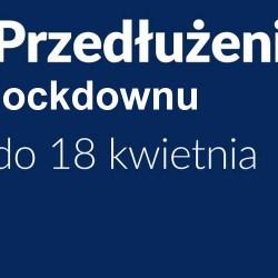 Lockdown przedłużony o kolejne dwa tygodnie