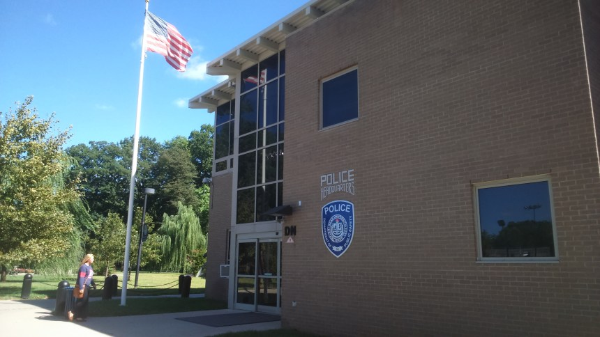 Kean University Police Headquarters. Photo Credit: Y. Smishkewych
