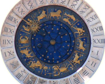 Astrological clock at Venice by Zachariel