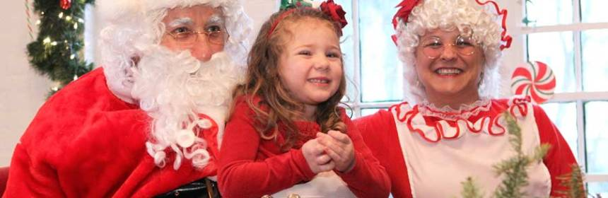 Breakfast with Santa at Liberty Hall Photo courtesy of the Liberty Hall Museum