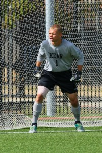 Senior, goalie Brad Watkins was named to the CoSIDA Academic All-District Team. Credit: Larry Levanti