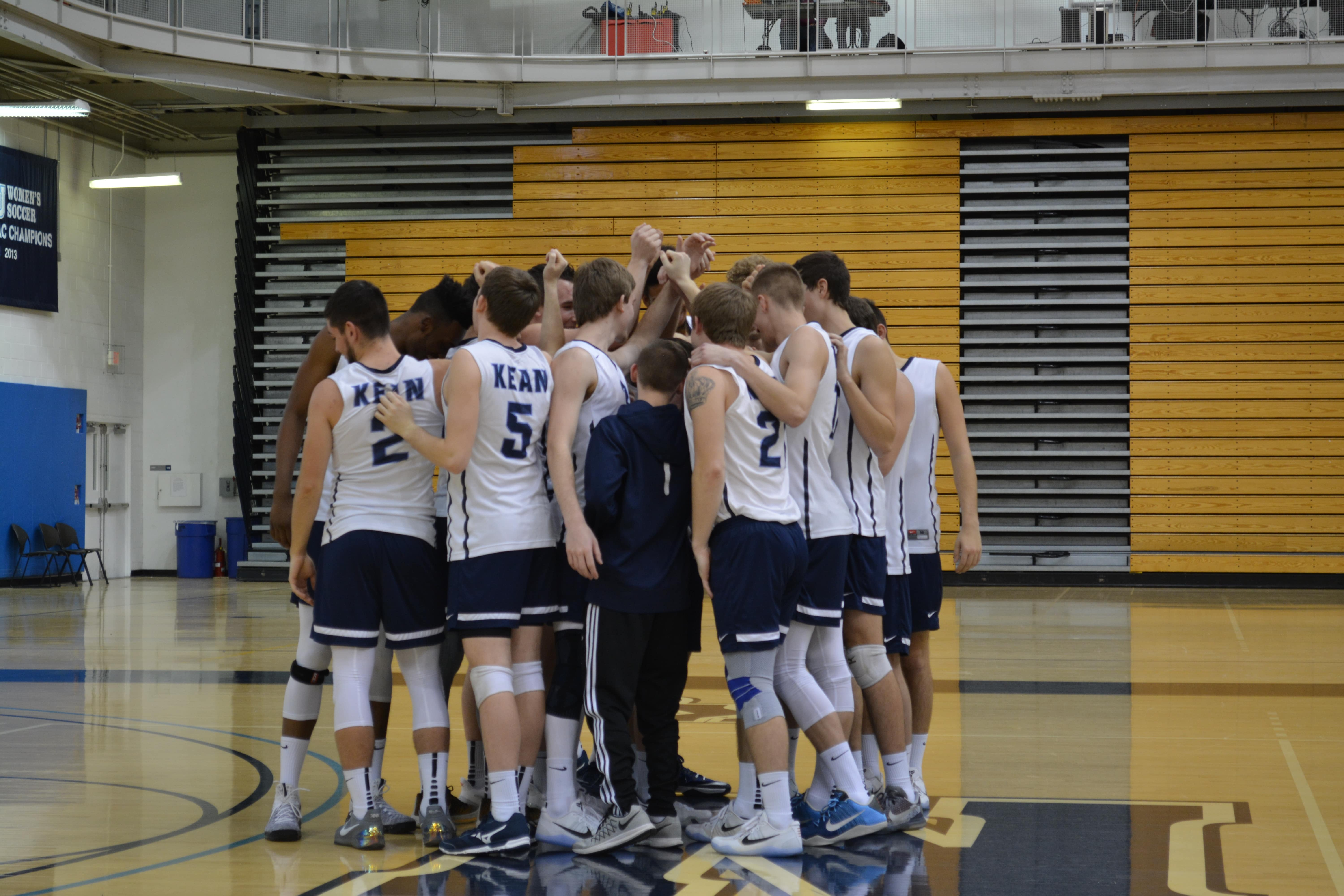Kean Mens Volleyball Team Opens Season With Winning Record