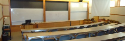 Classroom attendance. Photo Courtesy of Gail Fredericks