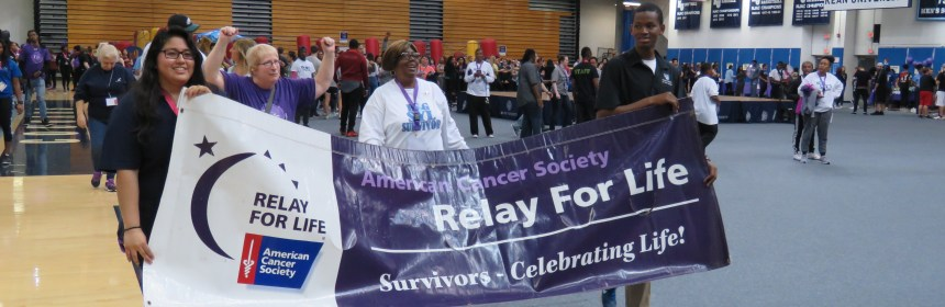 Participants and teams from the 2016 Relay for Life at Kean University. Credit: Rose Marie Kitchen