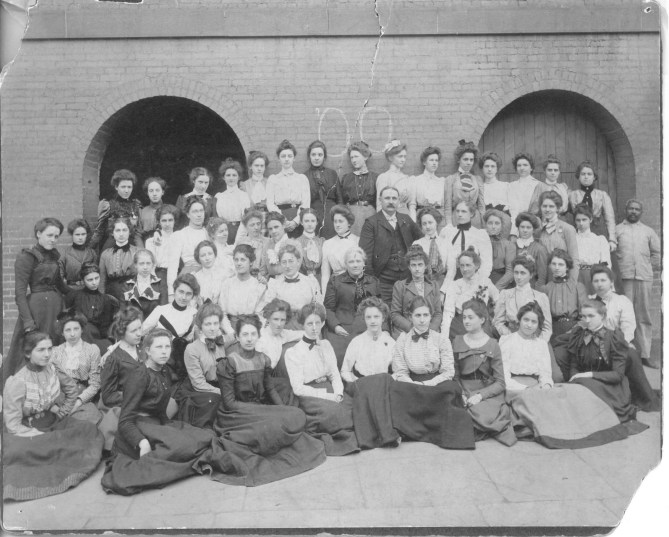 Kean Class of 1900 Credit: Kean University Archives and Special Collection