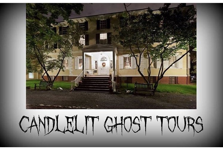 Candlelit tours ad on Libery Hall's instagram page