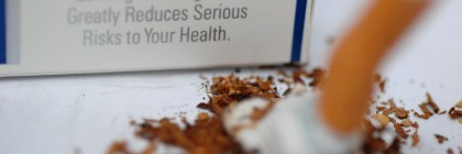 The Great American Smokeout encourages smokers nationwide to put out their cigarettes for good. Courtesty of Creative Commons
