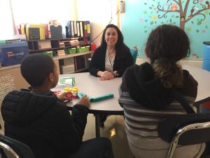 Teresa Muzzo left Kean prepared to run a classroom and teach without feeling overwhelmed Credit: Liz DelFino