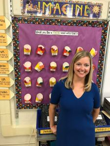 Victoria Sasso finds great ideas to use in the classroom by following fellow educators on Twitter Credit: Meredith Peitz