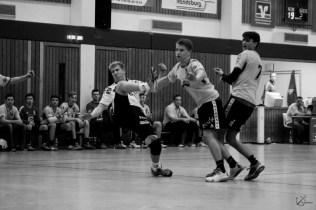 Handball Match in der Werner-Kuhrt-Halle   Kutterkind 2015
