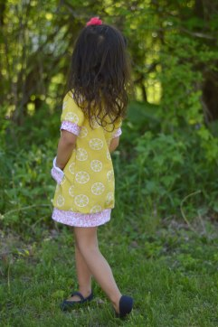 Bitty Bee Constance Dress Lemon Photos 8